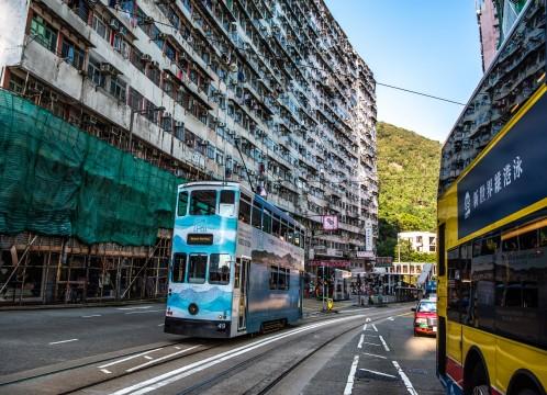 香港 街並みイメージ