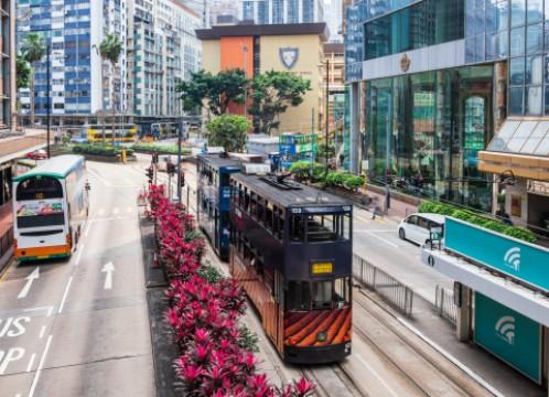 香港 二階建てトラム イメージ