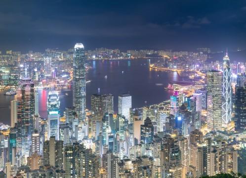 香港 100万ドルの夜景 イメージ