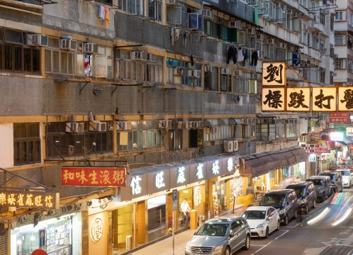 香港 夜の街並み イメージ