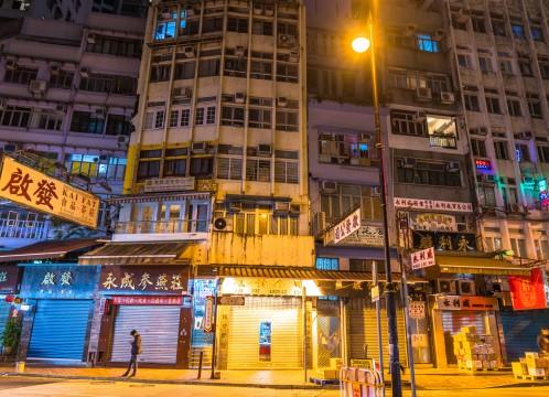 香港 夜の街並みのイメージ