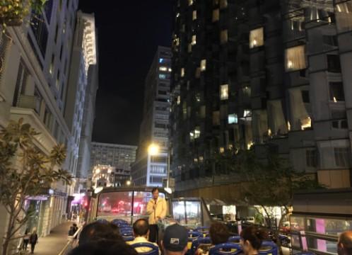 香港 オープントップバス車上 風景 イメージ