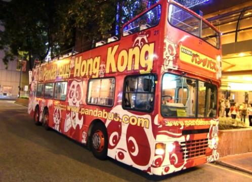 車両イメージ:パンダバスの元祖オープントップバス